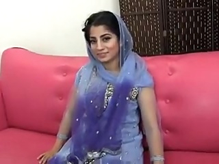 Paki-Indian muslim Girl fucked with 10 inches black cock arab cumshot ebony
