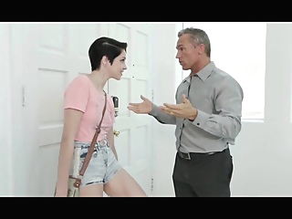Short Haired Babysitter Pleases Her Boss glory hole gym indian